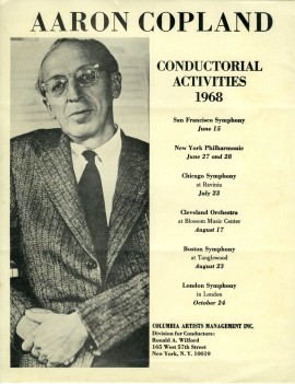 Copland Conducting Flyer